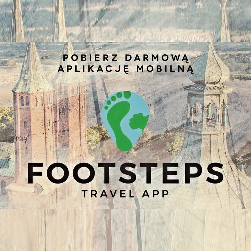 Footsteps aplikacja turystyczna sochaczew