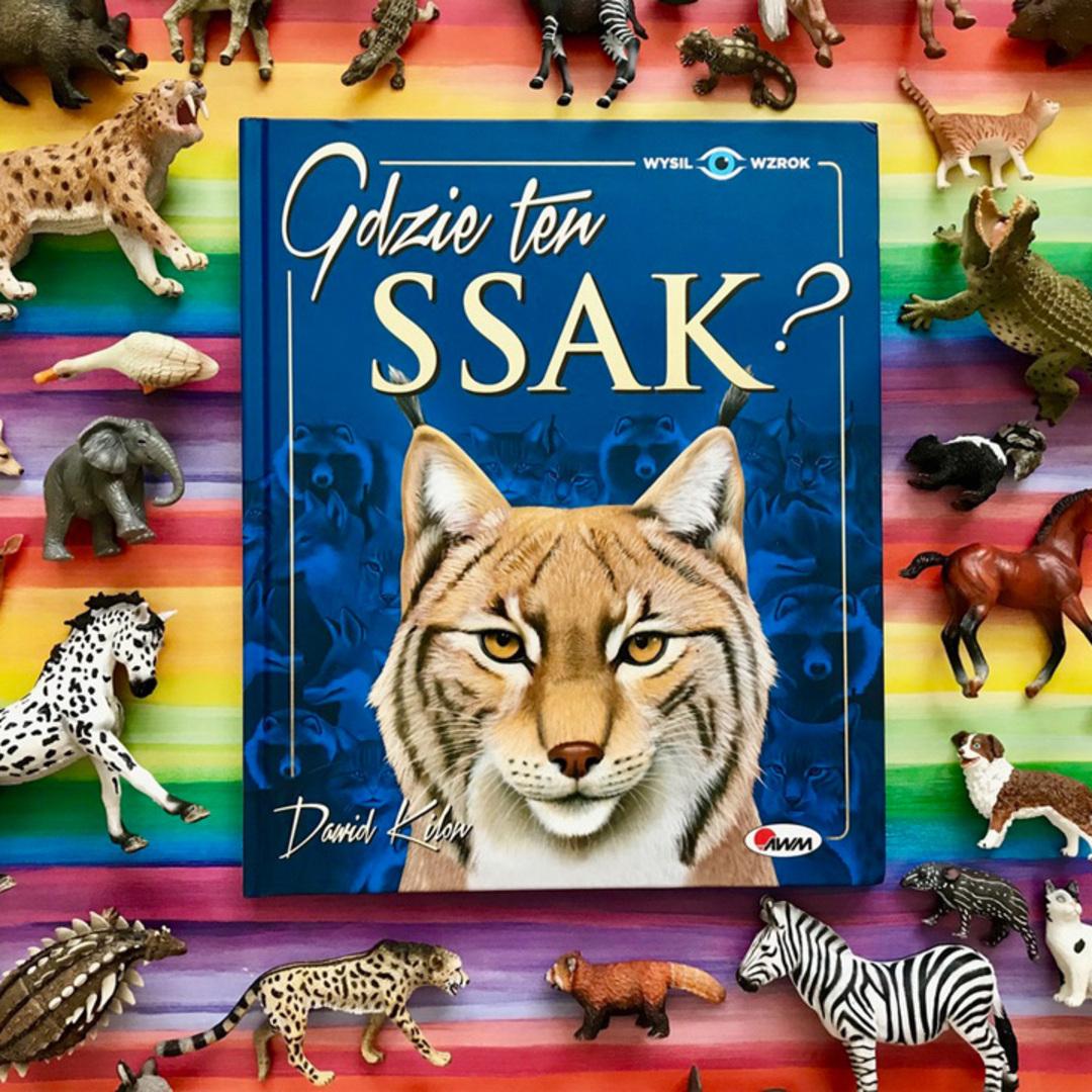 Ssaki ksiazka dla dzieci o zwierzetach