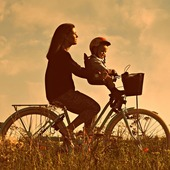 Small foteliki dzieciece na rower
