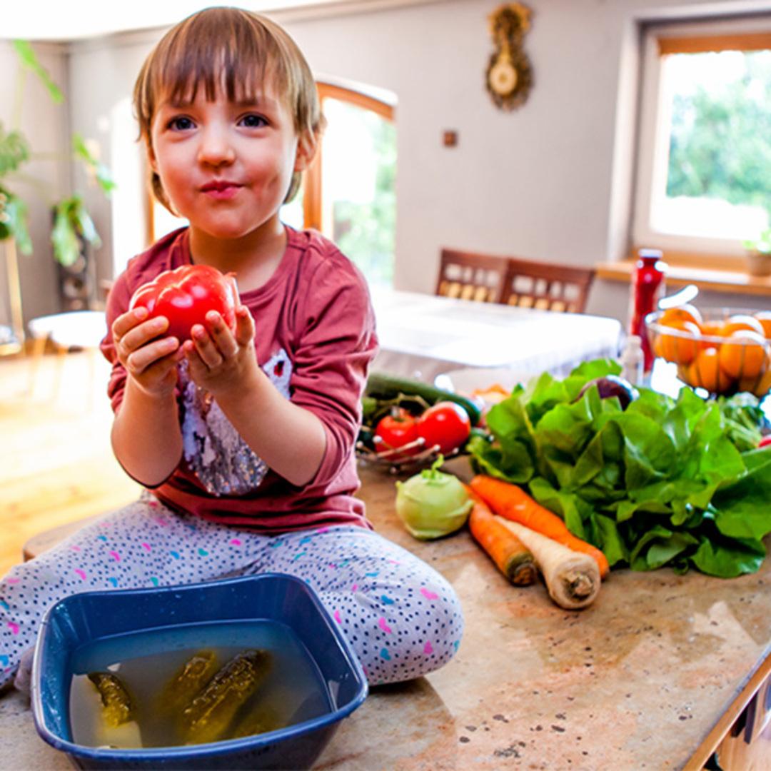 Jak przekona  dzieci by jad y warzywa 2