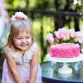 Small urodzinki dla dziecka w ogrodzie