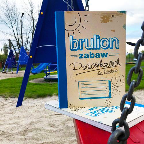 Brulion zabawy podworkowe dla dzieci