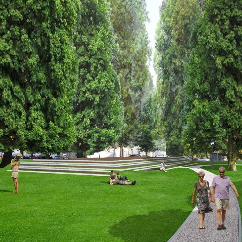 Park garbolewskiego w sochaczewie