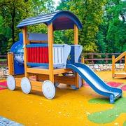 Small plac zabaw dla dzieci bedzin gora zamkowa