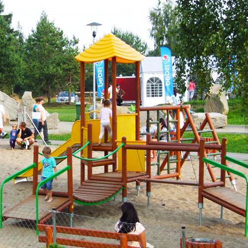 Plac zabaw silver park olkusz