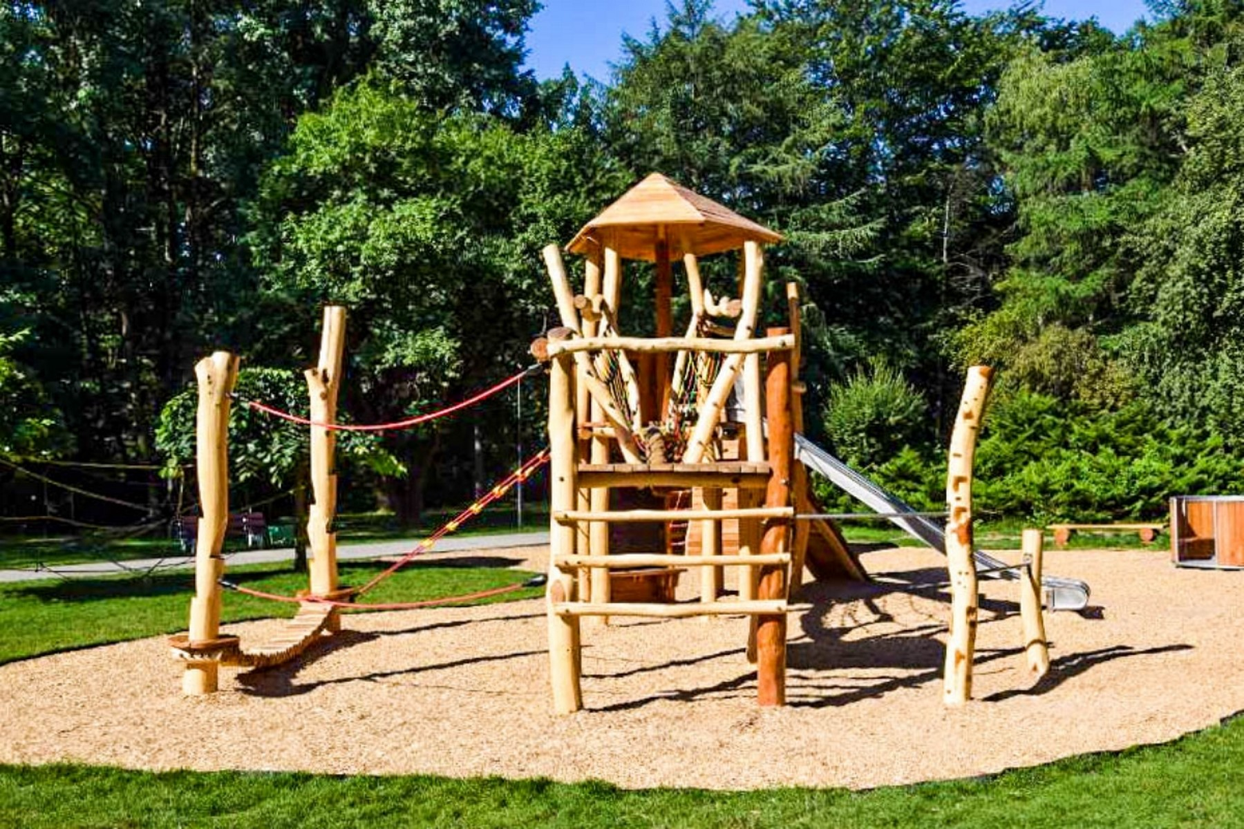 Eko plac zabaw katowice park kosciuszki 14
