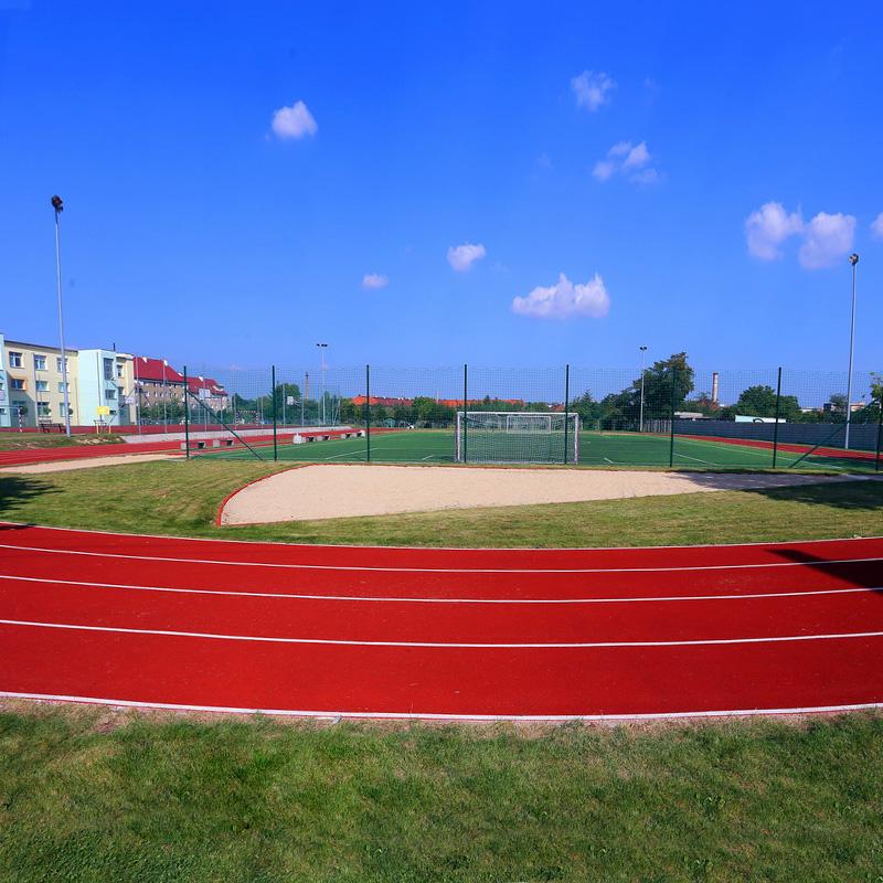 Kompleks boisk sportowych w swidnicy przy gim 4