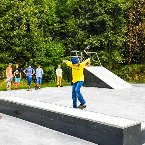 Skatepark w swinoujsciu ul matejki