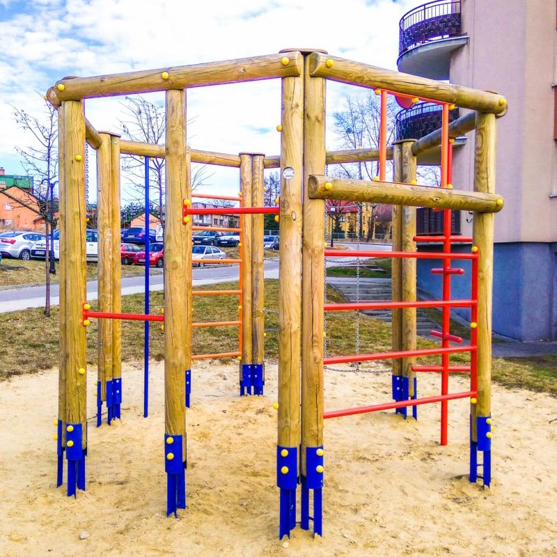 Plac zabaw dla dzieci ruda slaska ul kokota 22