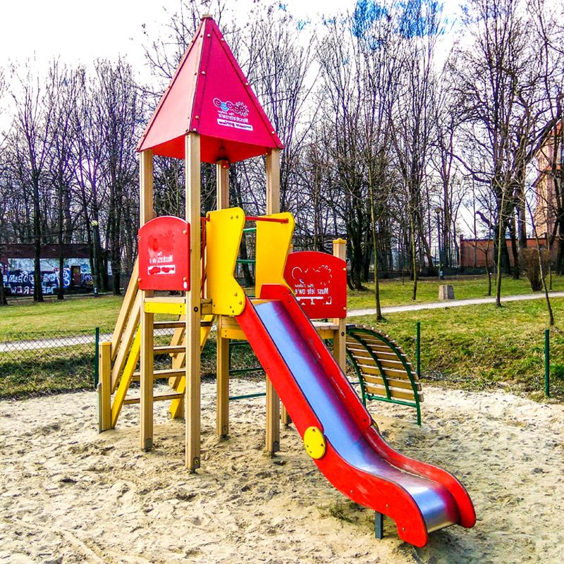Plac zabaw dla dzieci ruda slaska ul paderewskiego