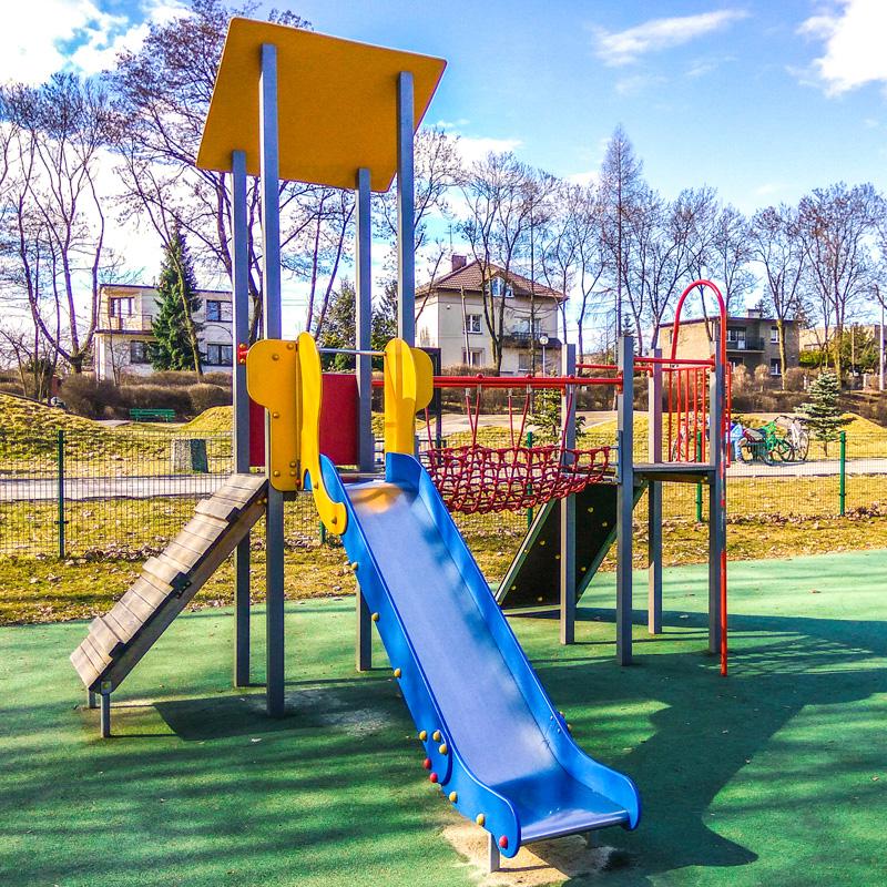 Plac zabaw dla dzieci ruda slaska park strzelnica