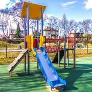 Small plac zabaw dla dzieci ruda slaska park strzelnica