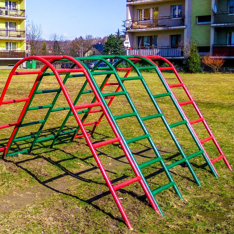 Plac zabaw dla dzieci ruda slaska wirek bielszowicka