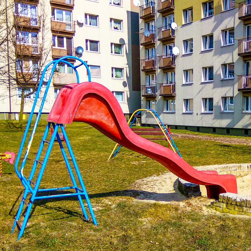 Plac zabaw dla dzieci ruda slaska ul kopalniana 16