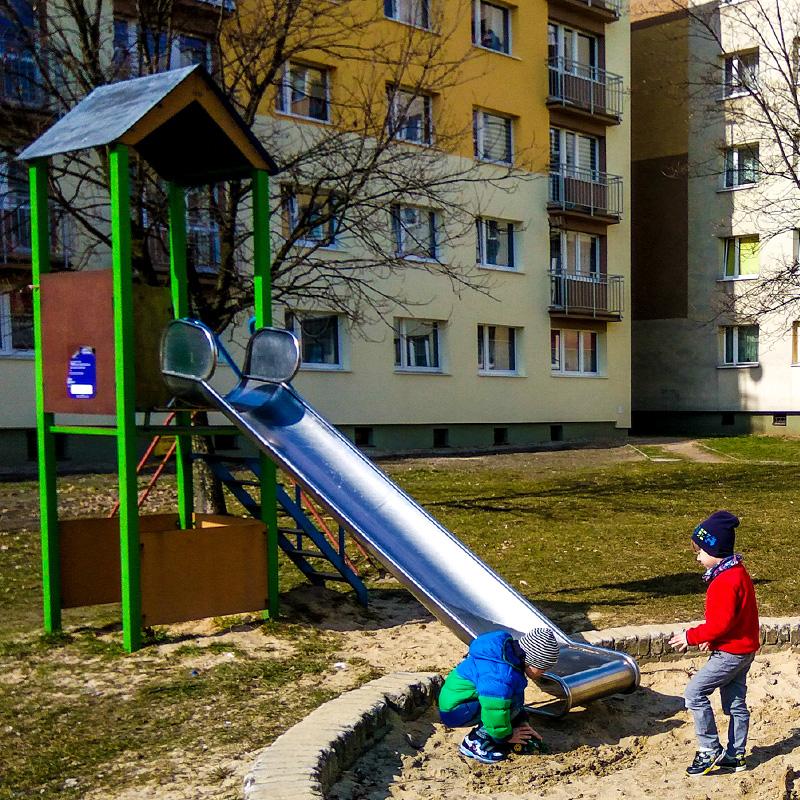 Plac zabaw w rudzie slaskiej bykowina u. kopalniana 22