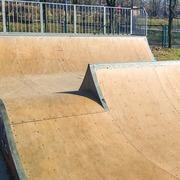 Small skatepark swietochlowice osri skalka