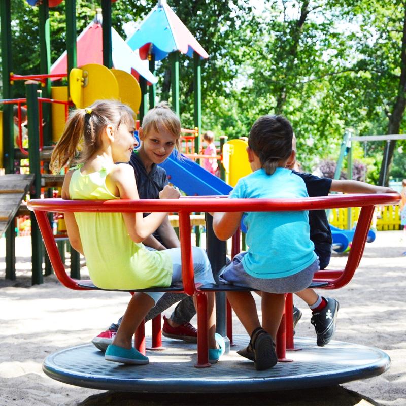 Park helwinga dla dzieci wegorzewo