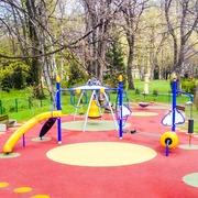 Small plac zabaw dla dzieci ustron park miejski
