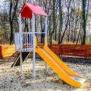 Small plac zabaw w lesie komunalnym w gliwicach