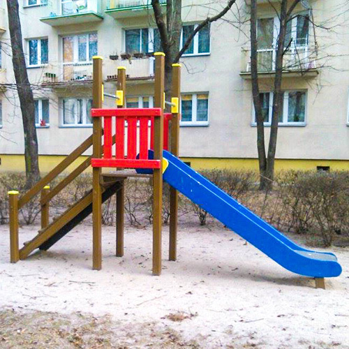 Plac zabaw dla dzieci we wroclawiu ul kolejowa