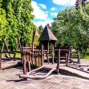 Small park jordana krakow plac zabaw