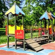 Small plac zabaw krakow park jordana