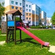 Small drewniany plac zabaw dla dzieci katowice ochojec