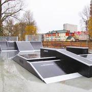 Small skatepark ko obrzeg ulica sliwinskiego