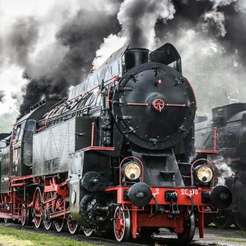 Skansen taboru kolejowego w habuwce