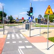Small miasteczko ruchu drogowego zory