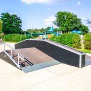 Small skatepark zory park cegielnia