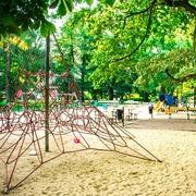 Small plac zabaw dla dzieci w ogrodzie saskim w warszawie