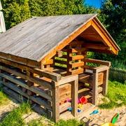 Small plac zabaw sluzewski dom kultury w warszawie