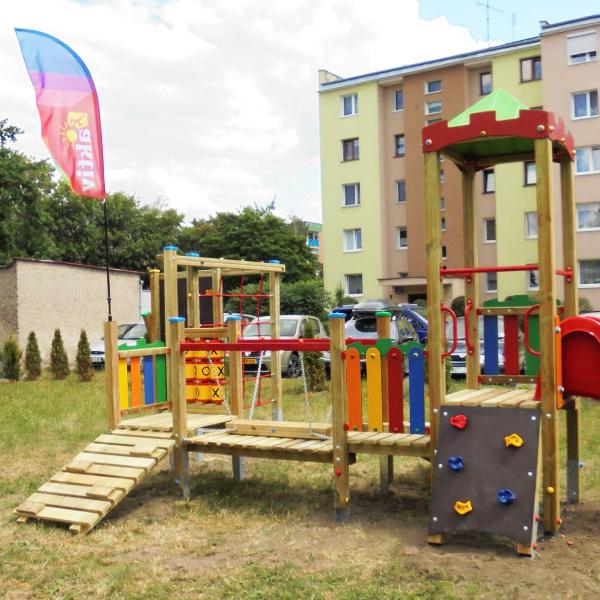 Plac zabaw dla dzieci kluczbork