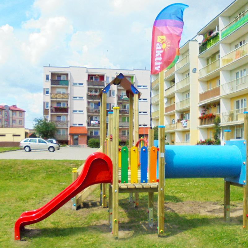 Plac zabaw dla dzieci w bartoszycach