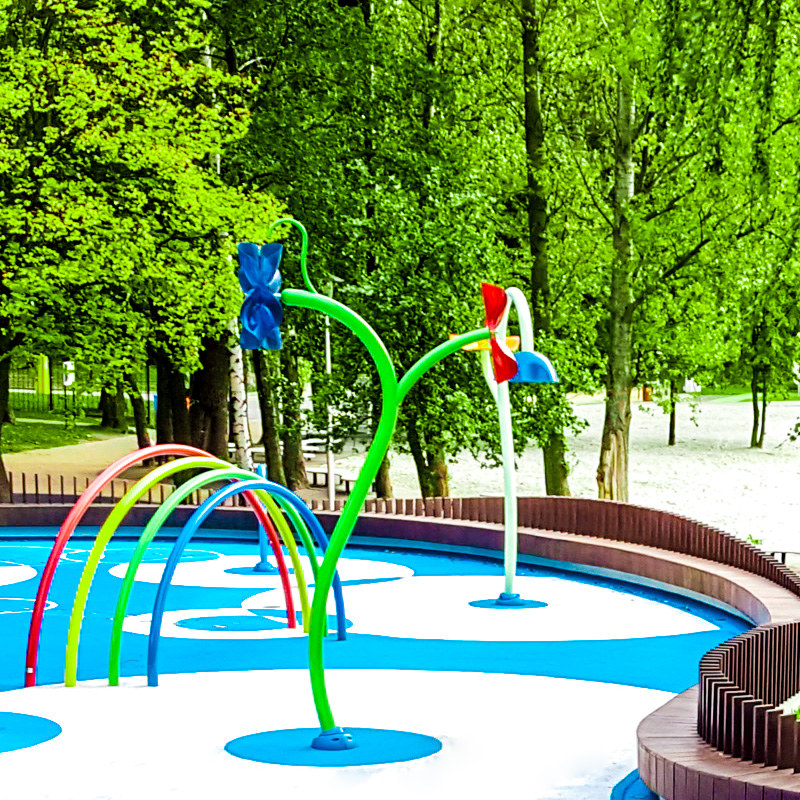 Wodny plac zabaw dla dzieci tychy paprocany