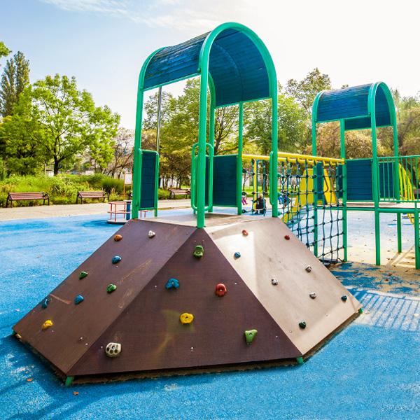 Plac zabaw katowice park alojzego budnioka