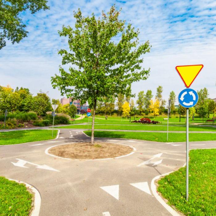 Miasteczko ruchu drogowego dla dzieci w katowicach