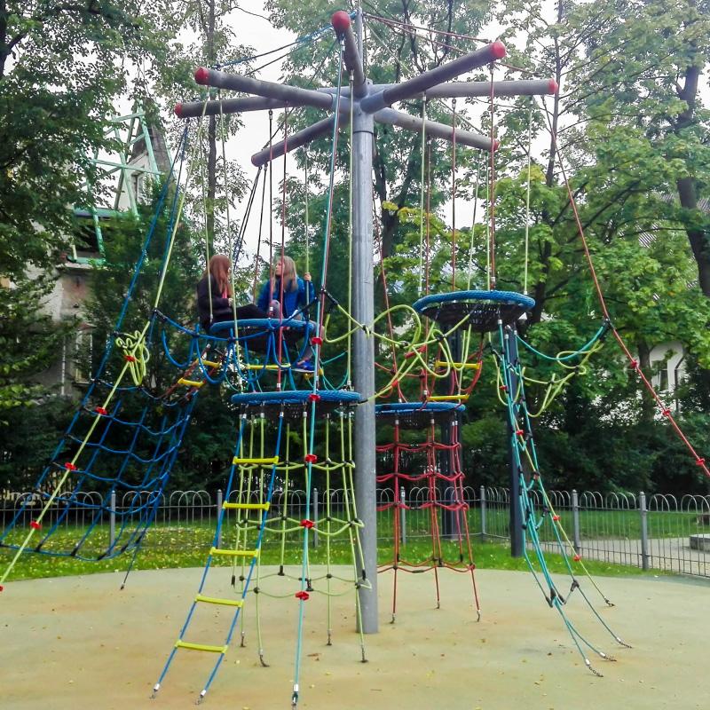 Plac zabaw park pilsudskiego zakopane