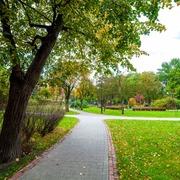 Small park imienia wincentego a paulo w krakowie