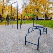 Small street workout krakow park kosciuszki