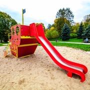 Small plac zabaw dla dzieci park tysiaclecia krakow