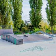 Small skatepark brodowski staw szczecin