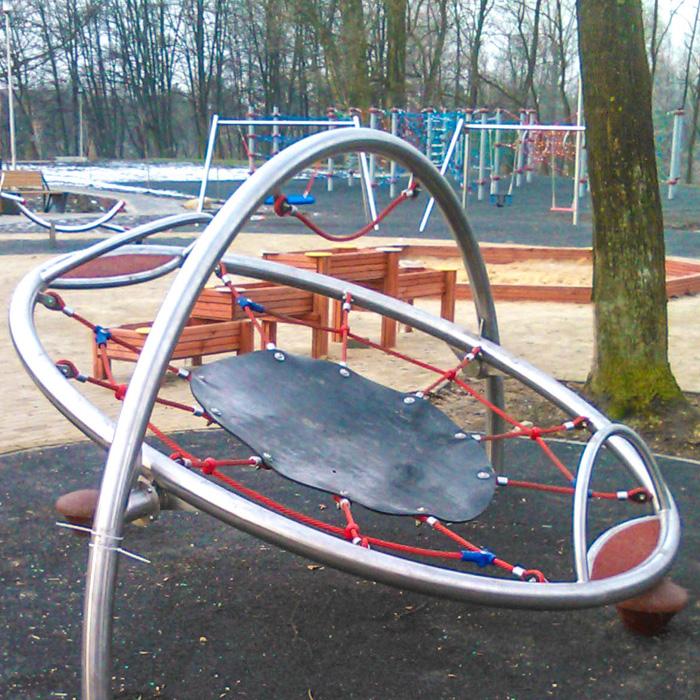 Plac zabaw park prochownia czeladz