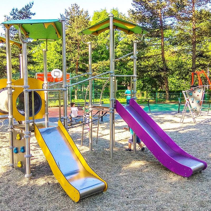 Plac zabaw dla dzieci skwer hilarego krzysztofiaka katowice