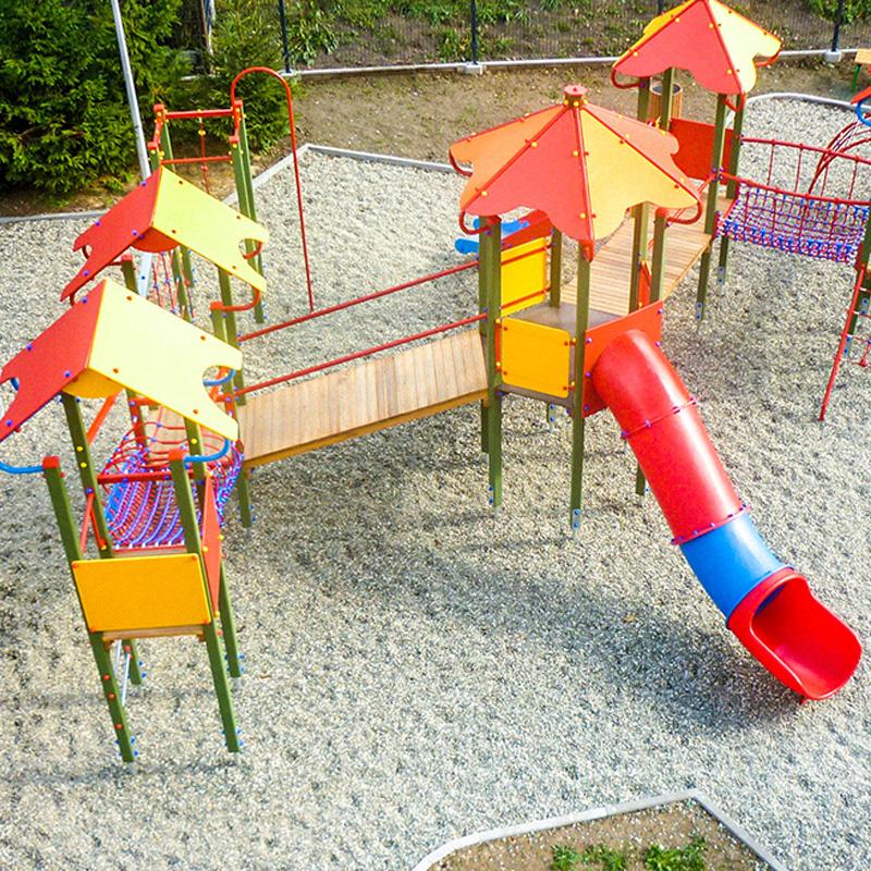 Plac zabaw dla dzieci w koniakowie