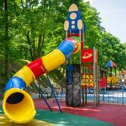 Small plac zabaw poznan park cytadela