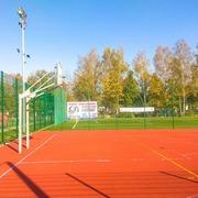 Small boisko sportowe w porebie