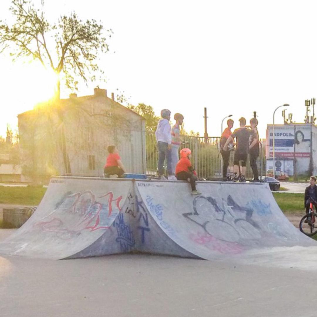 Skatepark kielce kadzielnia