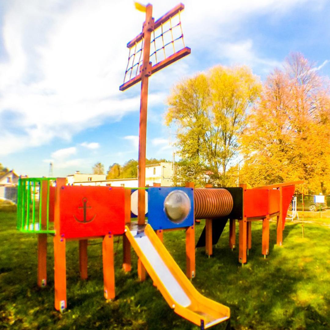 Plac zabaw warezyn